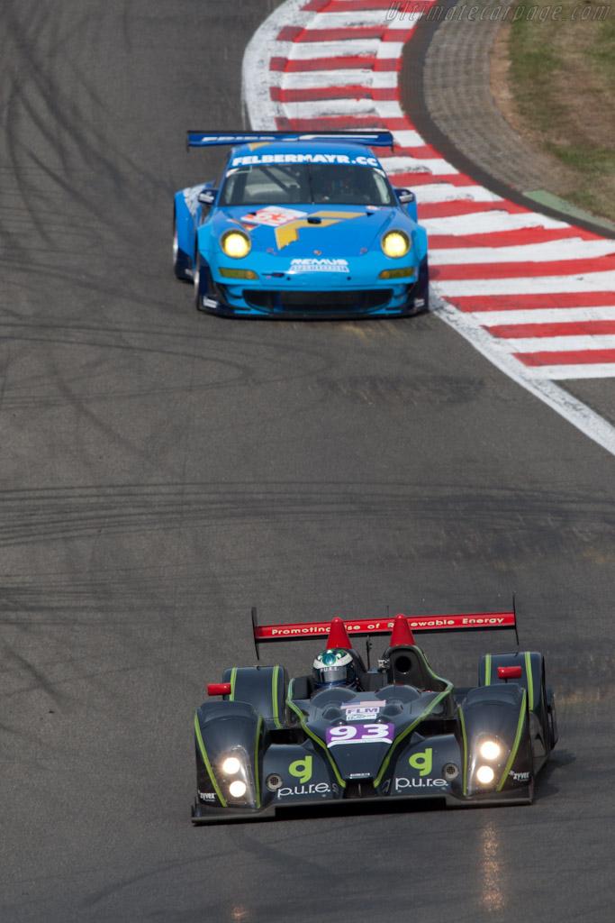 Courage-Oreca FLM09 - Chassis: FLM-19   - 2011 Le Mans Series Spa 1000 km (ILMC)