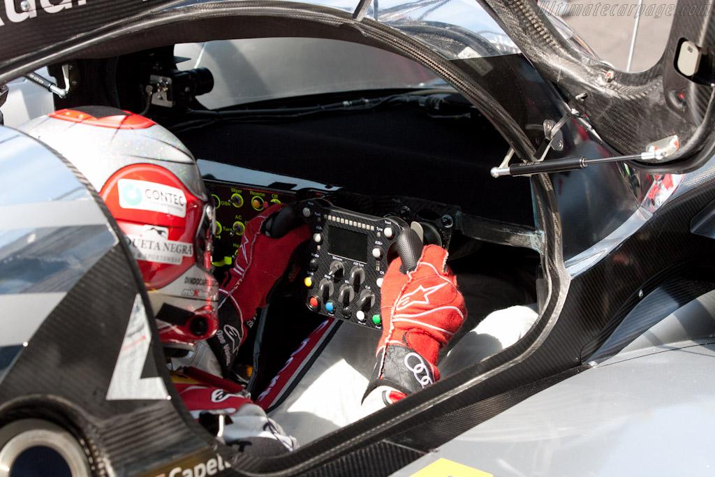 Dindo Capello in the R18 - Chassis: 105   - 2011 Le Mans Series Spa 1000 km (ILMC)