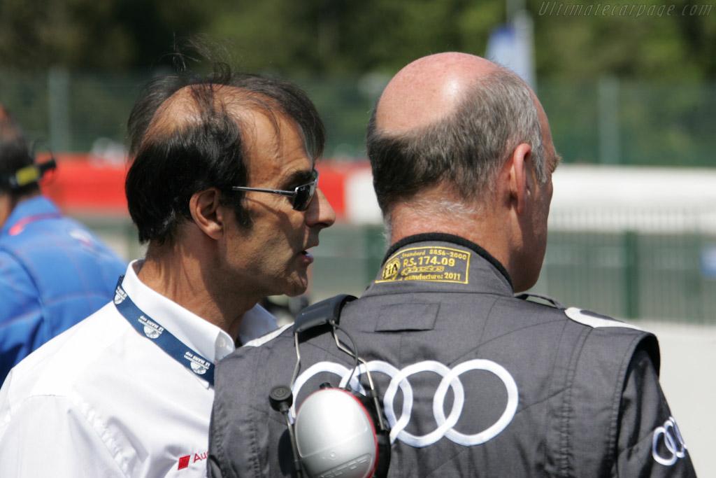 Emanuele Pirro   - 2011 Le Mans Series Spa 1000 km (ILMC)