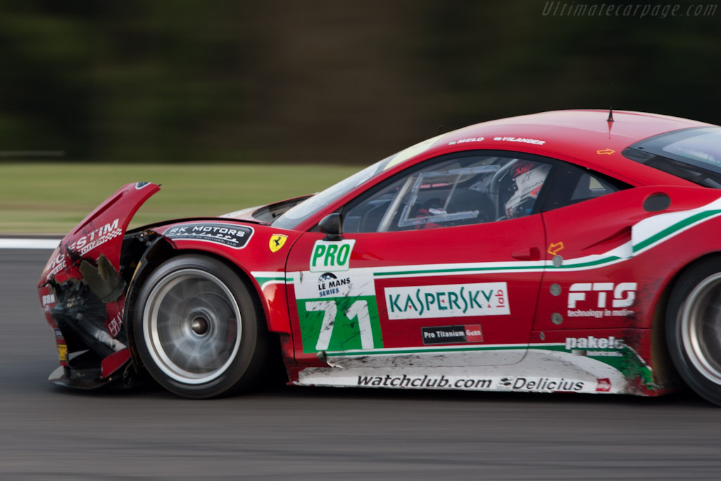 Fatal damage - Chassis: 2822   - 2011 Le Mans Series Spa 1000 km (ILMC)