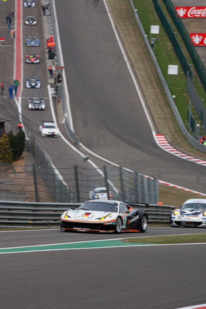 Ferrari 458 Italia - Chassis: 2830   - 2011 Le Mans Series Spa 1000 km (ILMC)