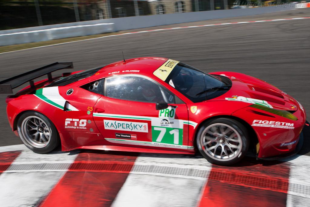 Ferrari 458 Italia - Chassis: 2822   - 2011 Le Mans Series Spa 1000 km (ILMC)