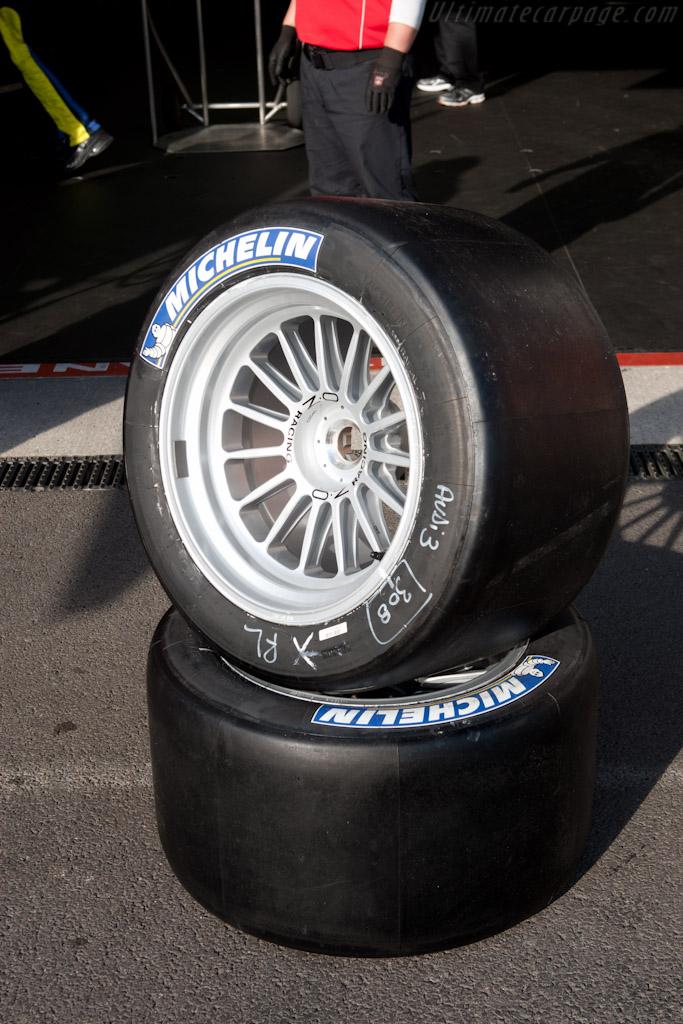 Fresh rubber   - 2011 Le Mans Series Spa 1000 km (ILMC)