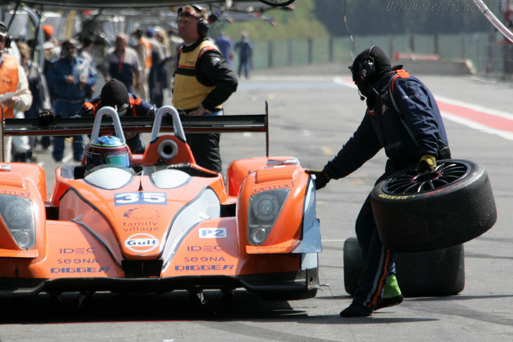 Fresh rubber - Chassis: 01-06  - 2011 Le Mans Series Spa 1000 km (ILMC)