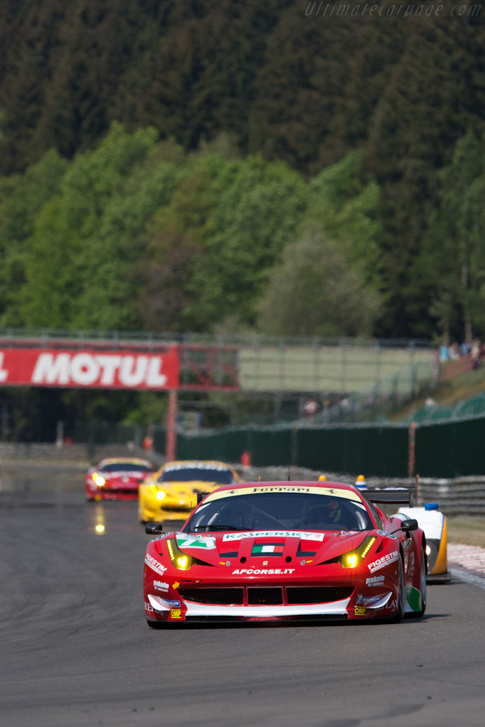 GTE Pro Leaders - Chassis: 2822   - 2011 Le Mans Series Spa 1000 km (ILMC)