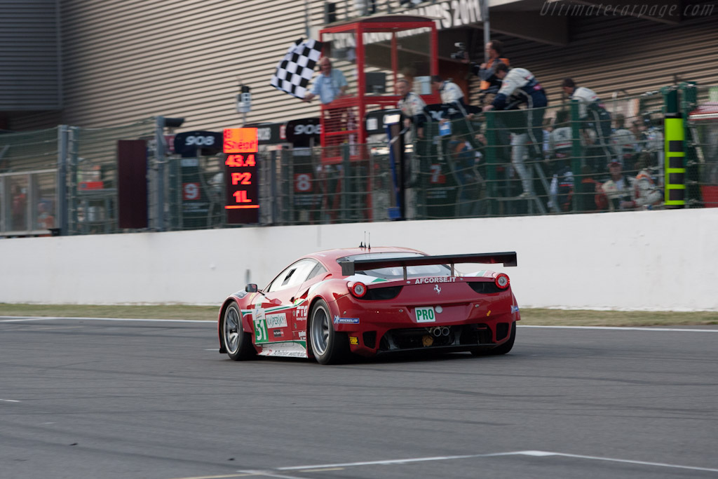 GTE Pro winners - Chassis: 2826   - 2011 Le Mans Series Spa 1000 km (ILMC)