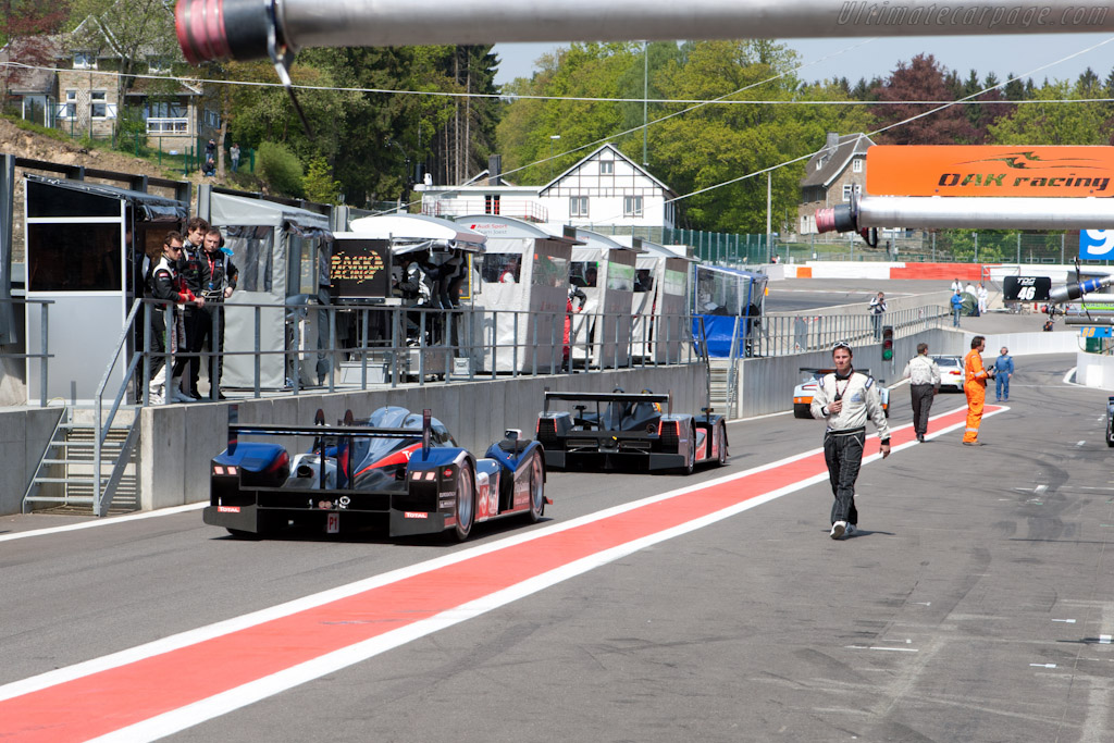 Going for the first run - Chassis: 908-05  - 2011 Le Mans Series Spa 1000 km (ILMC)