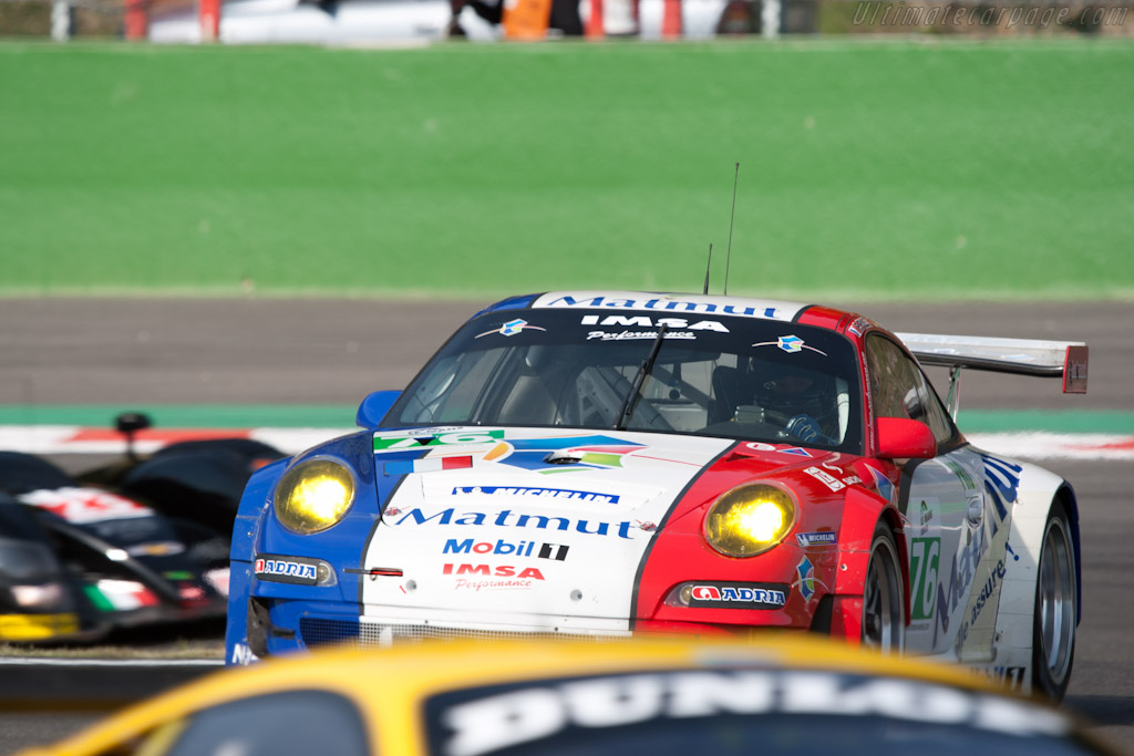 IMSA Performance Porsche in the mix - Chassis: WP0ZZZ99Z9S799915   - 2011 Le Mans Series Spa 1000 km (ILMC)