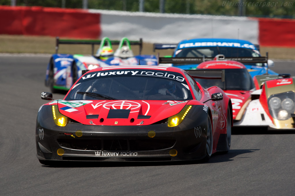 Luxury Racing Ferrari - Chassis: 2832   - 2011 Le Mans Series Spa 1000 km (ILMC)
