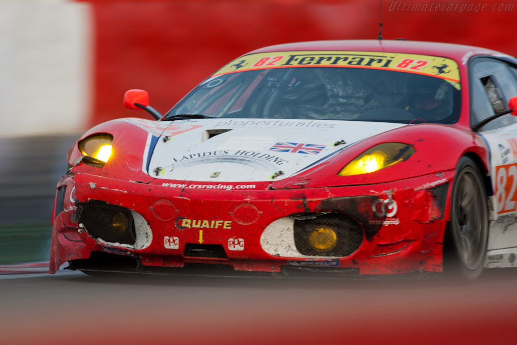 More fatal damage - Chassis: 2612   - 2011 Le Mans Series Spa 1000 km (ILMC)