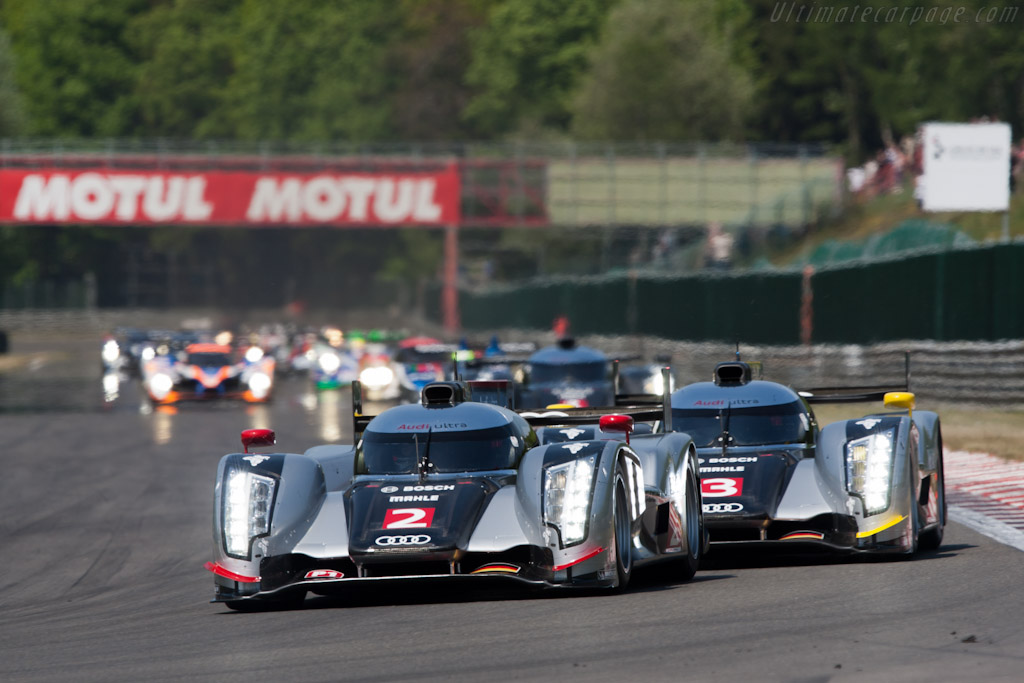Off they go - Chassis: 106   - 2011 Le Mans Series Spa 1000 km (ILMC)