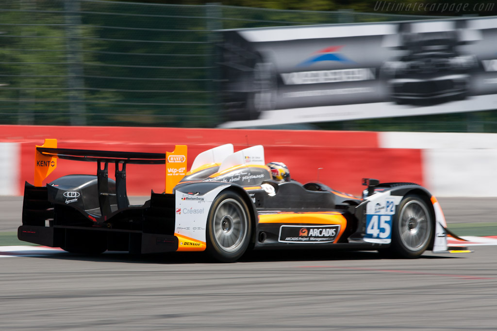 Oreca 03 Nissan - Chassis: 01   - 2011 Le Mans Series Spa 1000 km (ILMC)
