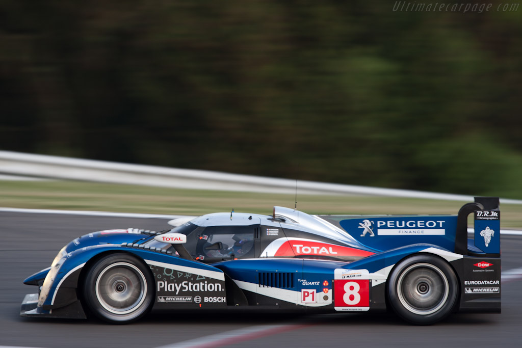 Peugeot 908 - Chassis: 908-05   - 2011 Le Mans Series Spa 1000 km (ILMC)