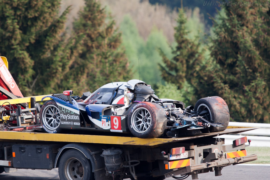 Peugeot Remains - Chassis: 908-03   - 2011 Le Mans Series Spa 1000 km (ILMC)