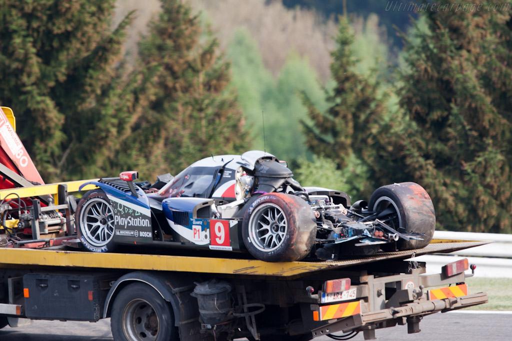 Peugeot Remains - Chassis: 908-03  - 2011 Le Mans Series Spa 1000 km (ILMC)
