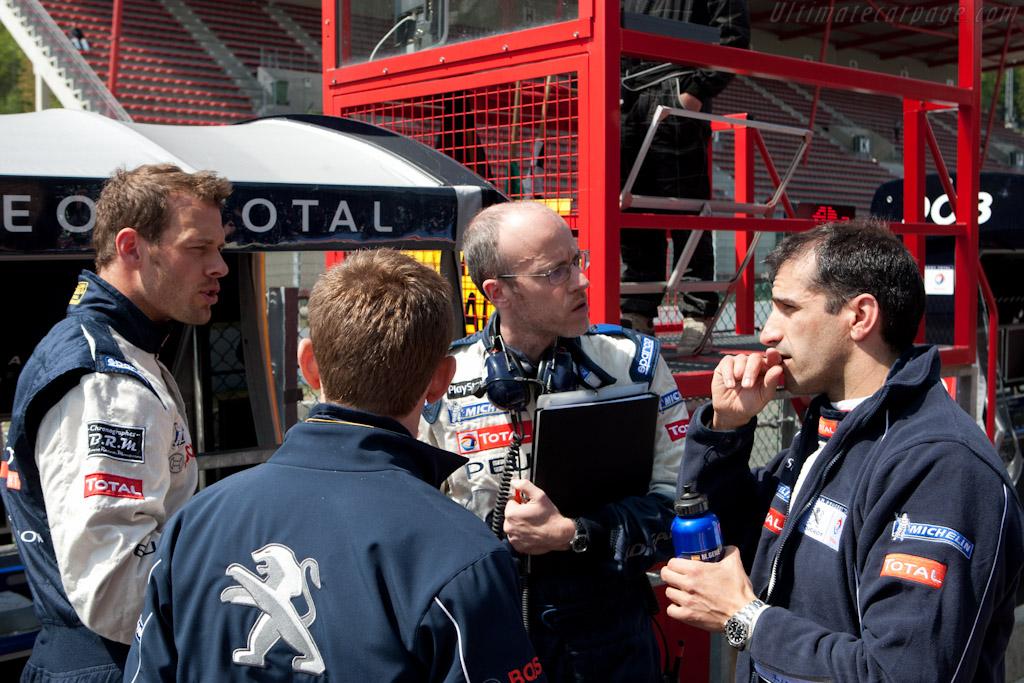 Peugeot debrief    - 2011 Le Mans Series Spa 1000 km (ILMC)