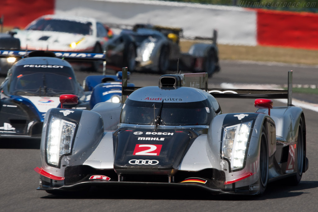Peugeot in the Audi mix - Chassis: 106   - 2011 Le Mans Series Spa 1000 km (ILMC)