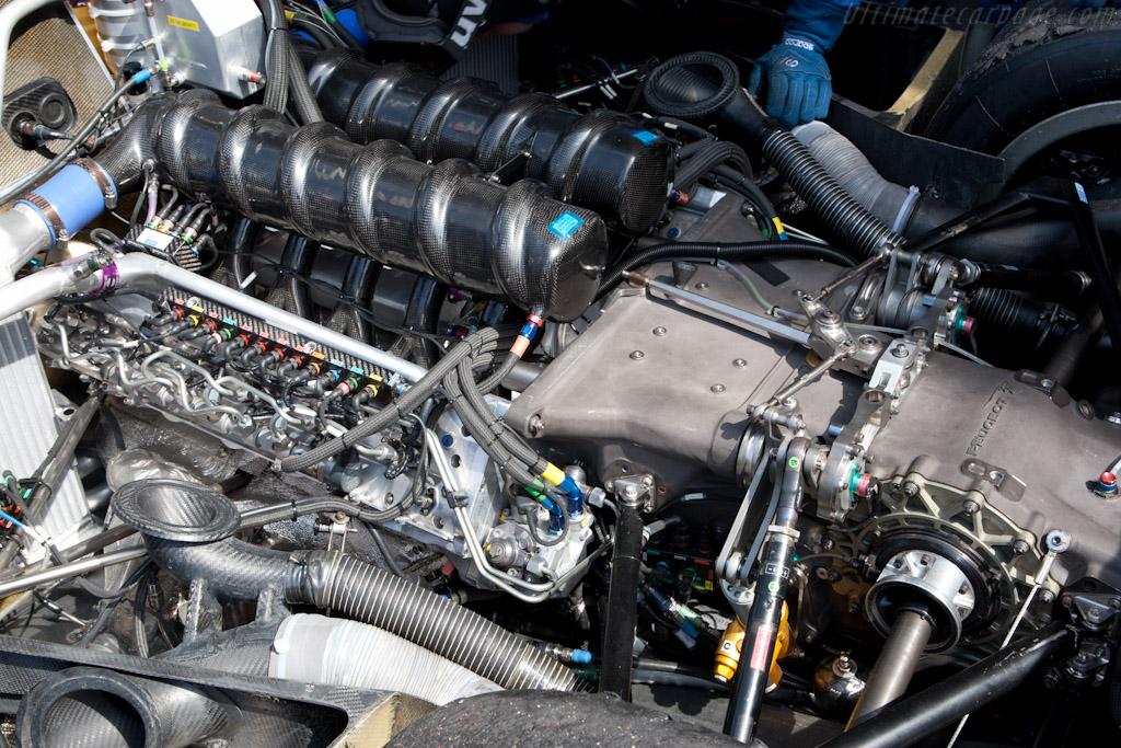 Peugeot's V12 - Chassis: 908-10   - 2011 Le Mans Series Spa 1000 km (ILMC)
