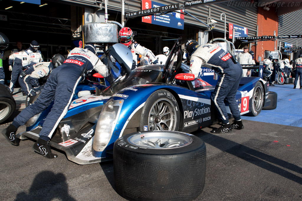 Peugeot stop - Chassis: 908-03  - 2011 Le Mans Series Spa 1000 km (ILMC)