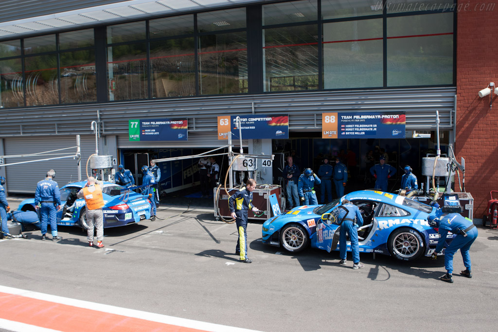 Ready to go - Chassis: WP0ZZZ99Z9S799918   - 2011 Le Mans Series Spa 1000 km (ILMC)