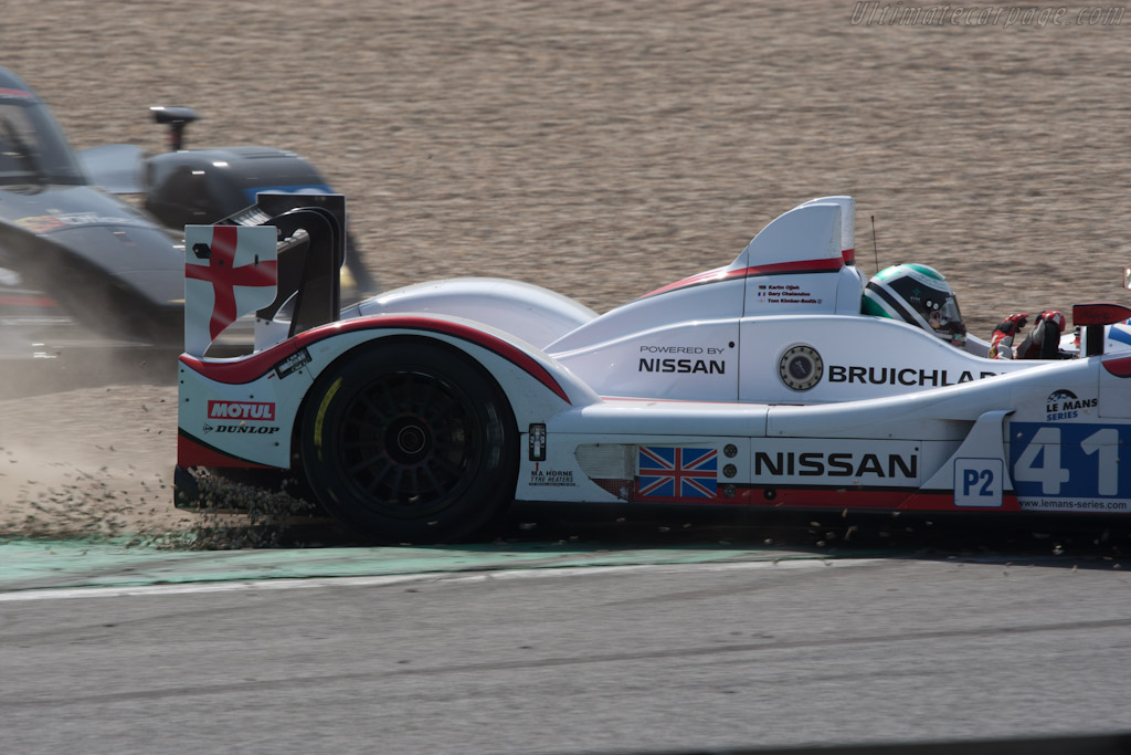 Recovery - Chassis: Z11SN-03  - 2011 Le Mans Series Spa 1000 km (ILMC)