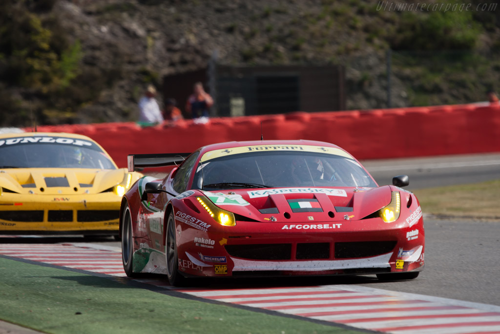 Still AF Corse from JMW - Chassis: 2822  - 2011 Le Mans Series Spa 1000 km (ILMC)