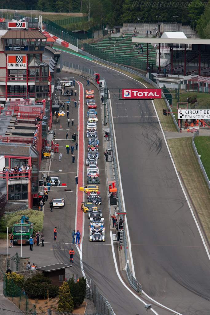 Welcome to Spa-Francorchamps - Chassis: 105   - 2011 Le Mans Series Spa 1000 km (ILMC)
