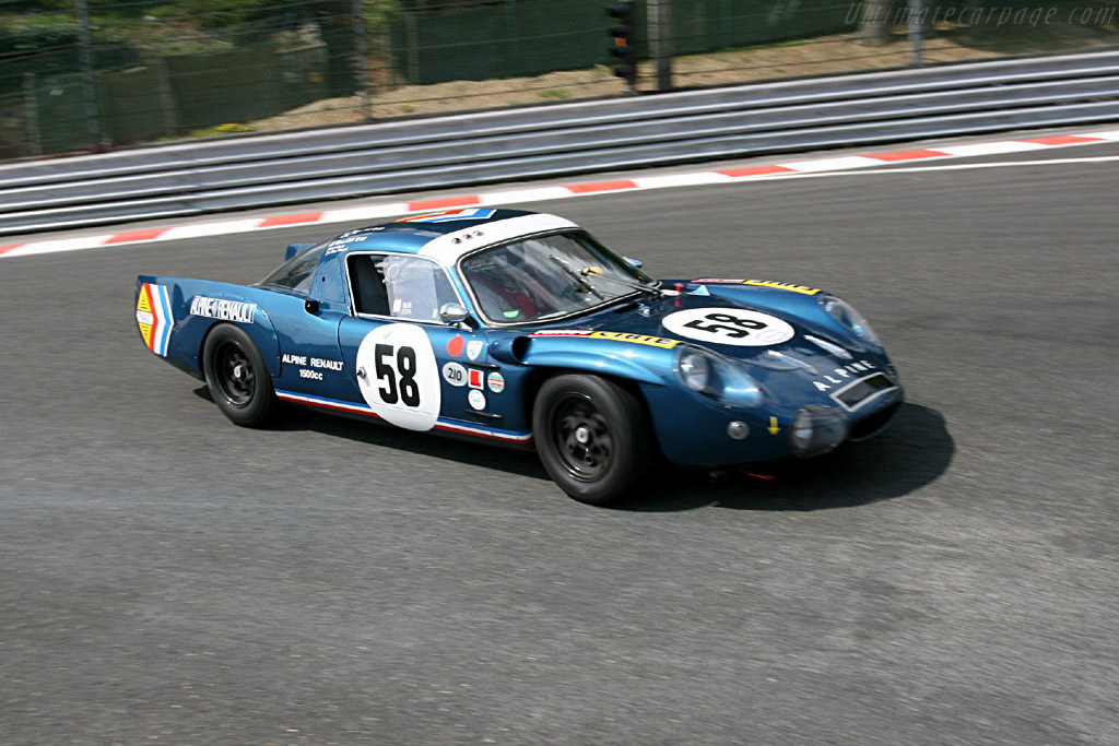 Alpine A210 - Chassis: 1720   - 2006 Le Mans Series Spa 1000 km