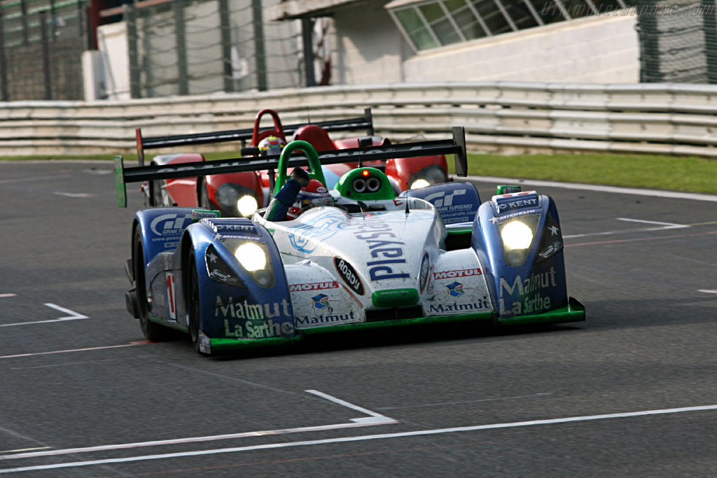 Congratulations! - Chassis: 4   - 2006 Le Mans Series Spa 1000 km