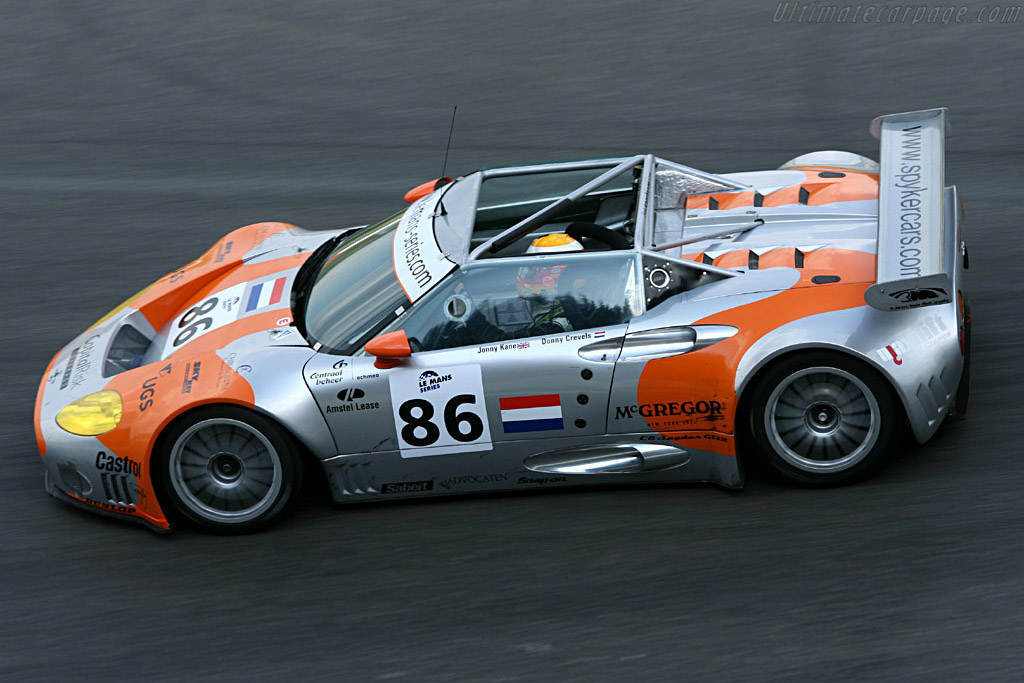 Spyker C8 GT2-R - Chassis: XL9CD31G55Z363046   - 2006 Le Mans Series Spa 1000 km