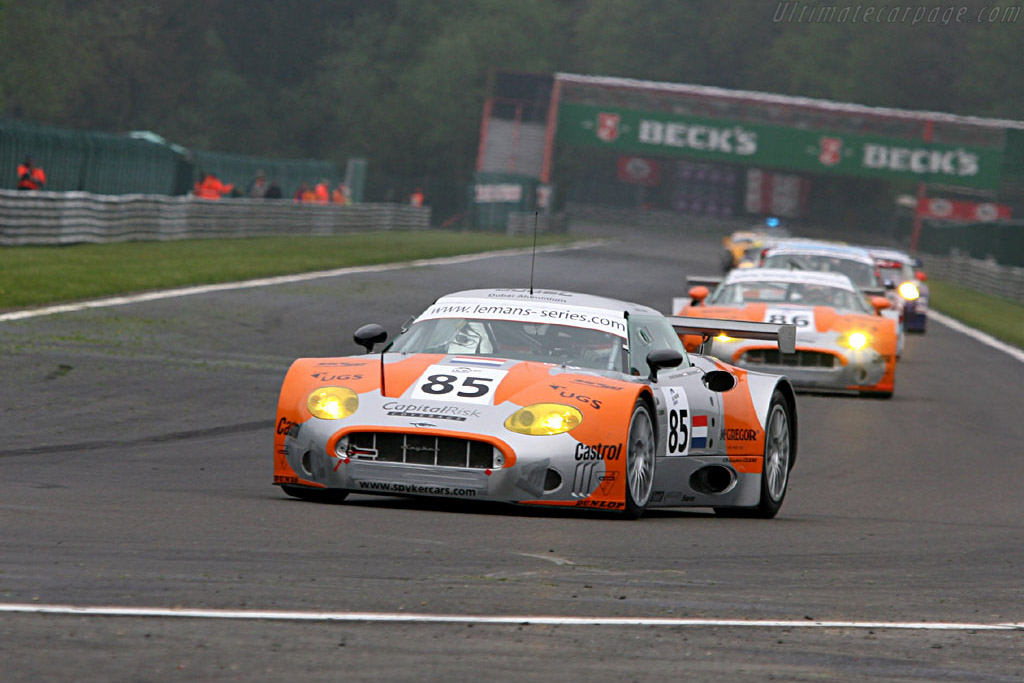 Spyker C8 Spyder GT2-R - Chassis: XL9GB11HX50363097   - 2006 Le Mans Series Spa 1000 km