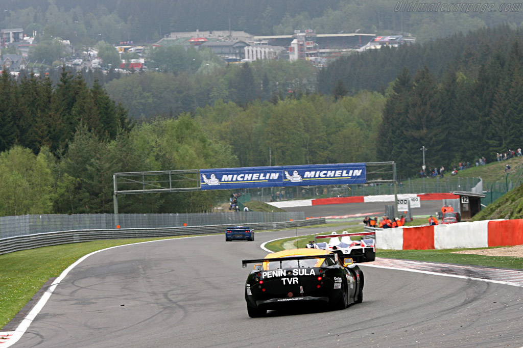TVR Tuscan T400R - Chassis: SDLDA18A28001227   - 2006 Le Mans Series Spa 1000 km