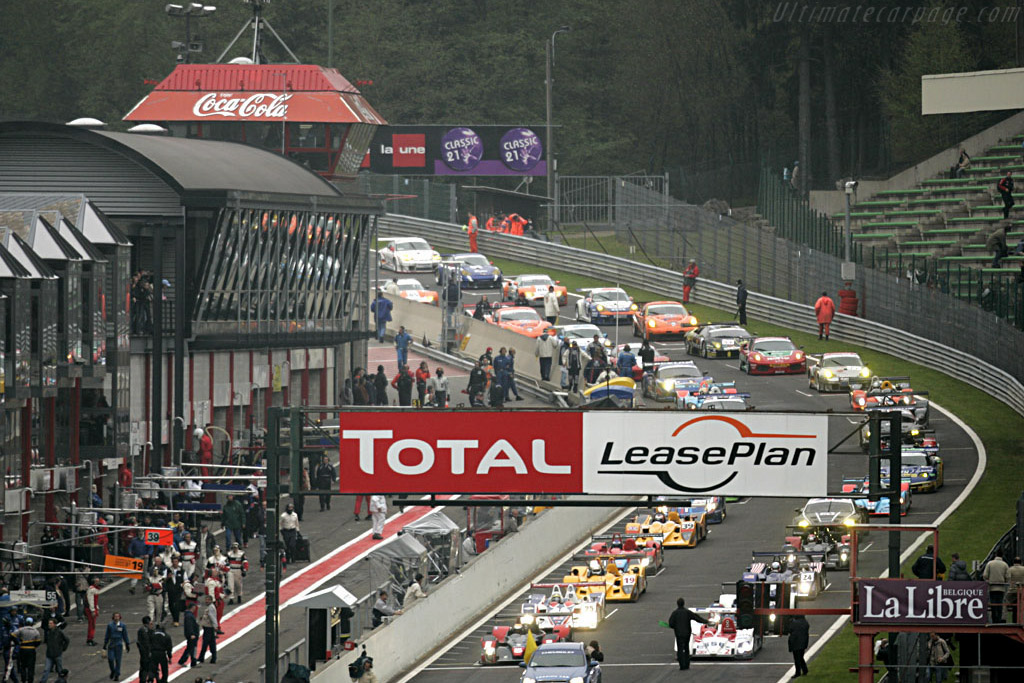 The Grid    - 2006 Le Mans Series Spa 1000 km