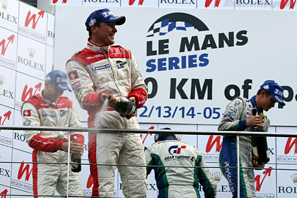 The Podium    - 2006 Le Mans Series Spa 1000 km