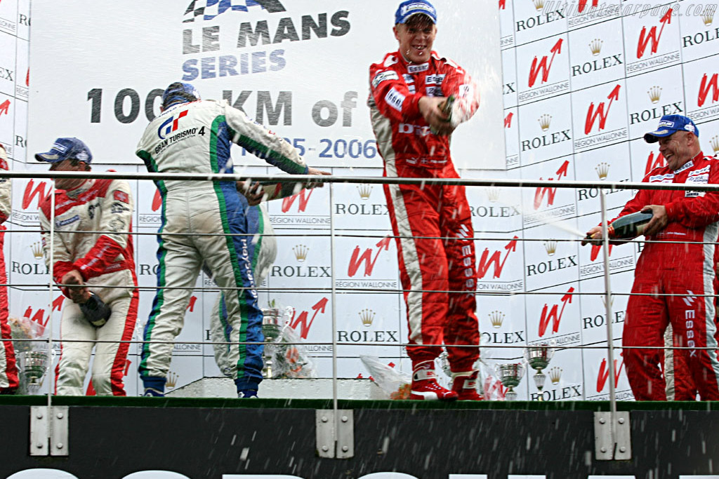 The Podium    - 2006 Le Mans Series Spa 1000 km