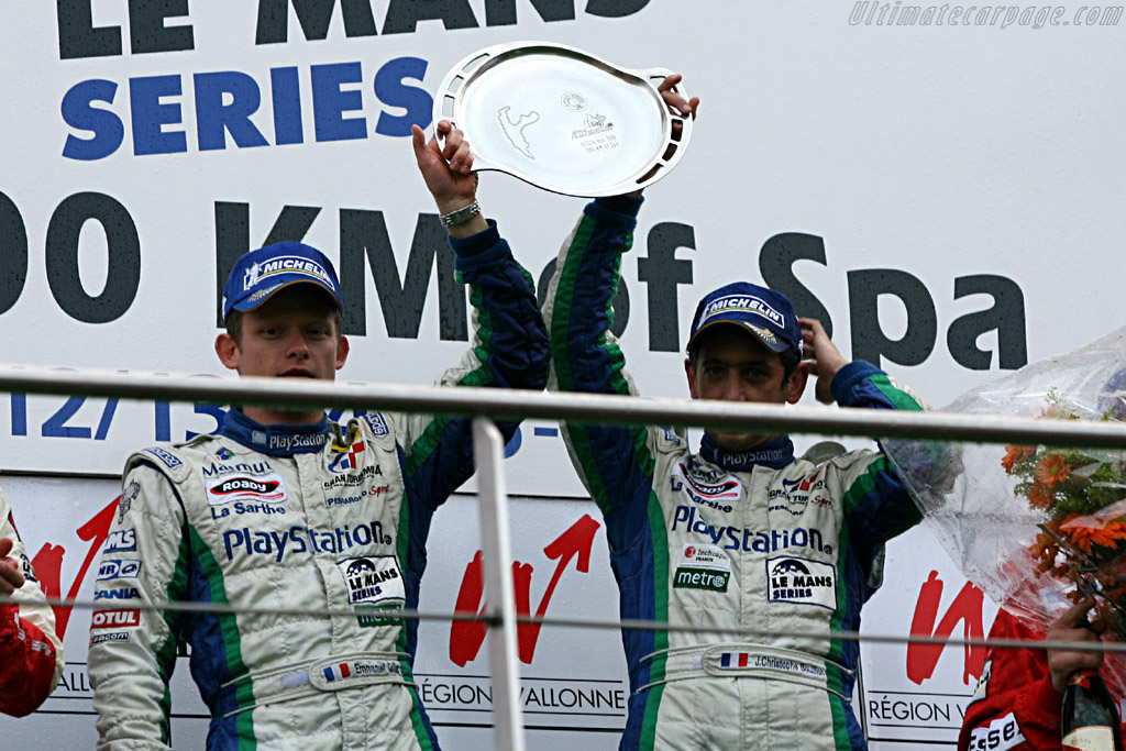 The Winners    - 2006 Le Mans Series Spa 1000 km