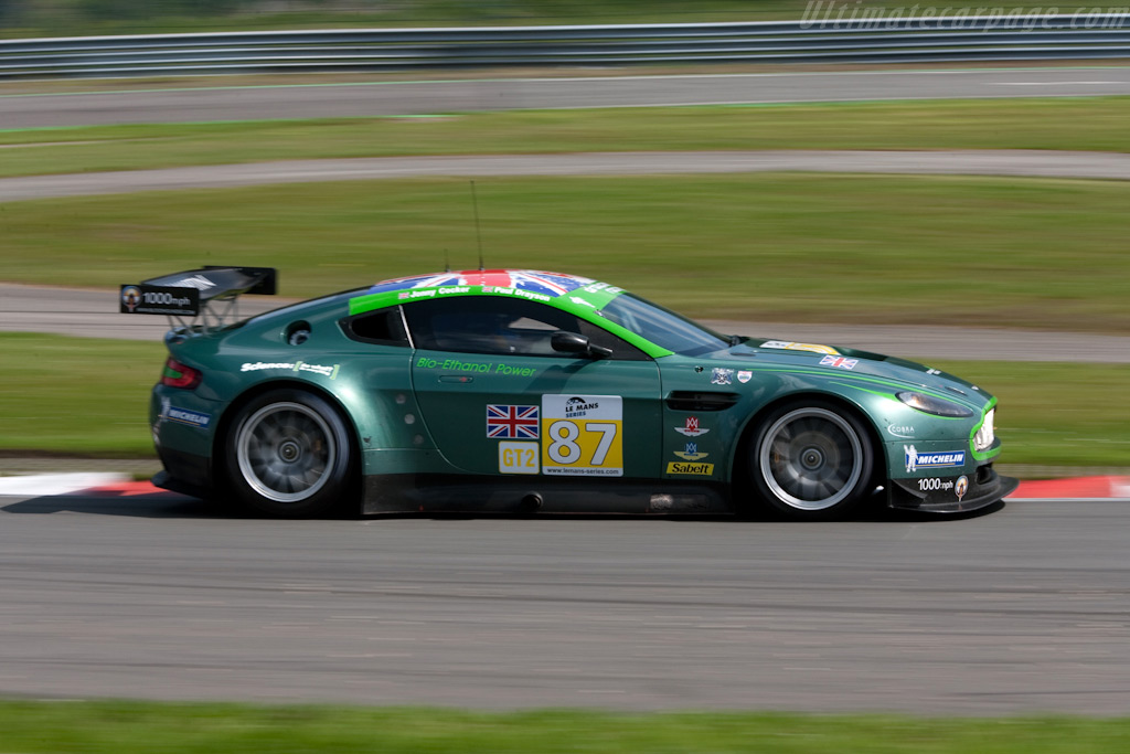 Aston Martin V8 Vantage GT2 - Chassis: GT2/002   - 2009 Le Mans Series Spa 1000 km