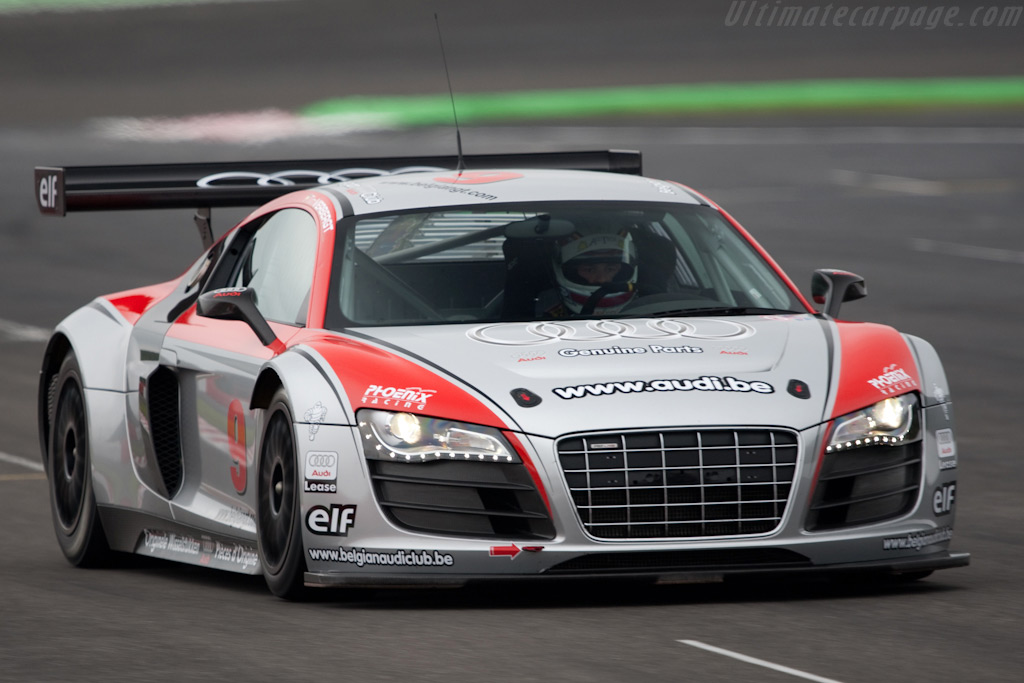 Audi R8 LMS - Chassis: AS42AOFGT3090103   - 2009 Le Mans Series Spa 1000 km
