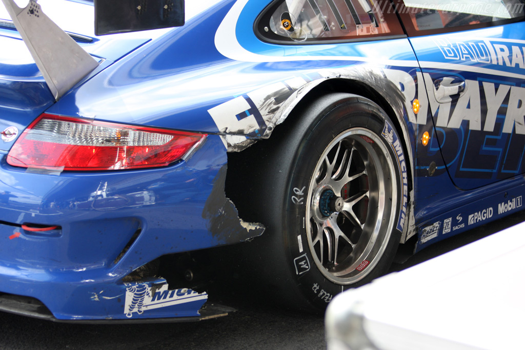 Battle scars - Chassis: WP0ZZZ99Z9S799918   - 2009 Le Mans Series Spa 1000 km