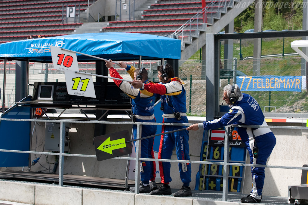 Clear signals    - 2009 Le Mans Series Spa 1000 km