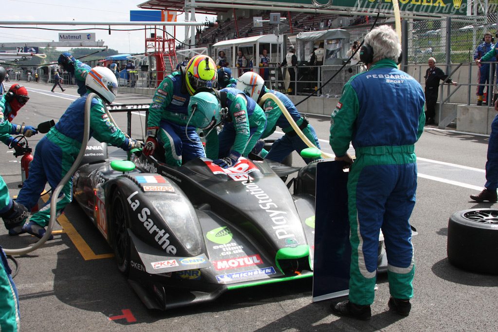 Driver change at Pescarolo - Chassis: 01-08   - 2009 Le Mans Series Spa 1000 km