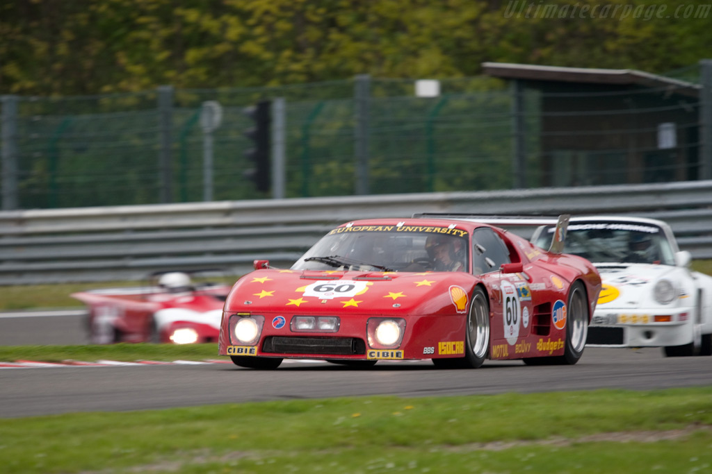 Ferrari 512 BB LM - Chassis: 35525 - Driver: Christian Traber  - 2009 Le Mans Series Spa 1000 km