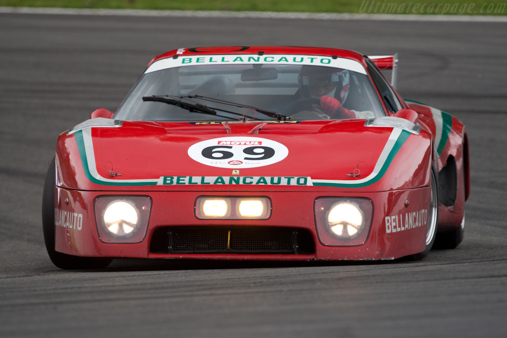 Ferrari 512 BB LM - Chassis: 28601 - Driver: Mr John of B  - 2009 Le Mans Series Spa 1000 km