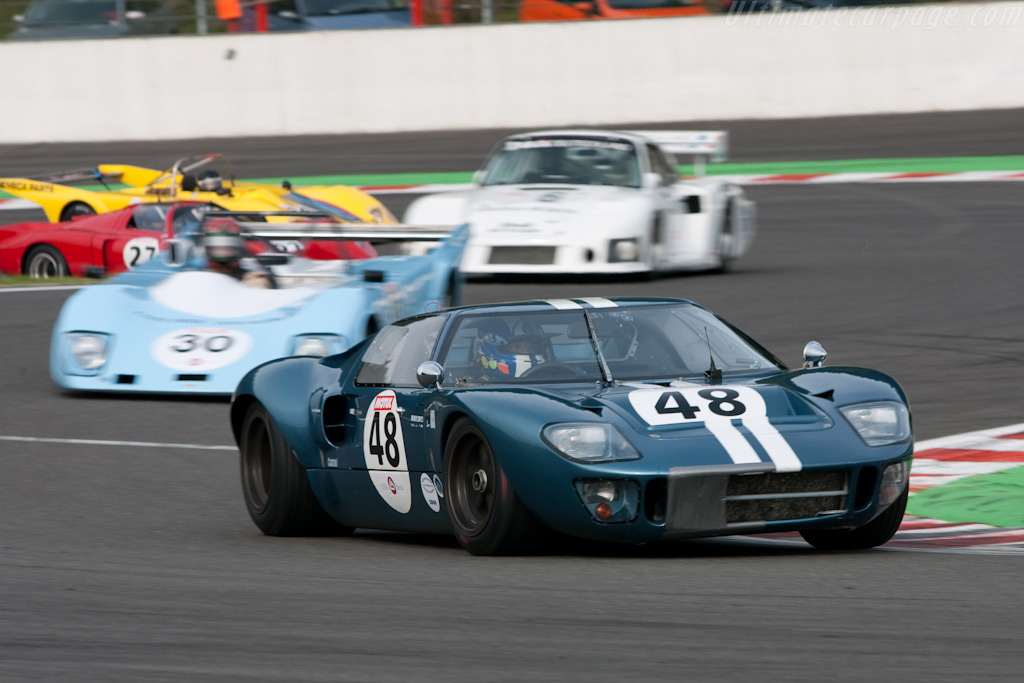 Ford GT40 - Chassis: GT40P/1078   - 2009 Le Mans Series Spa 1000 km