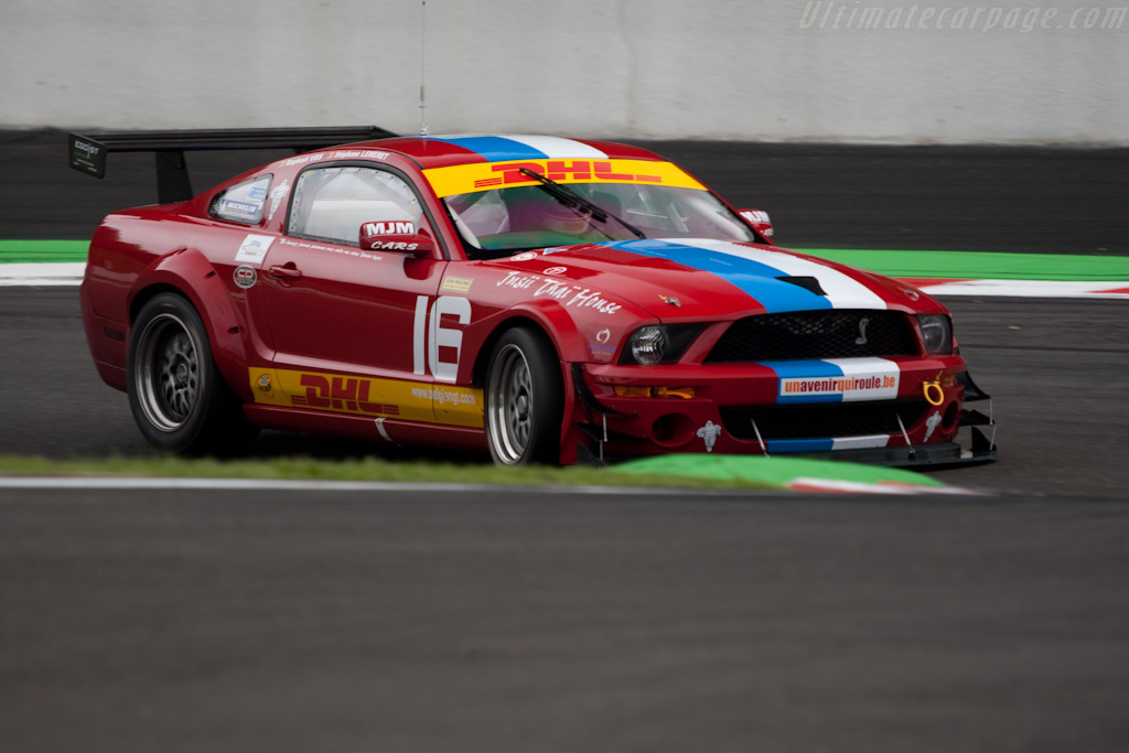 Ford Mustang FR500    - 2009 Le Mans Series Spa 1000 km
