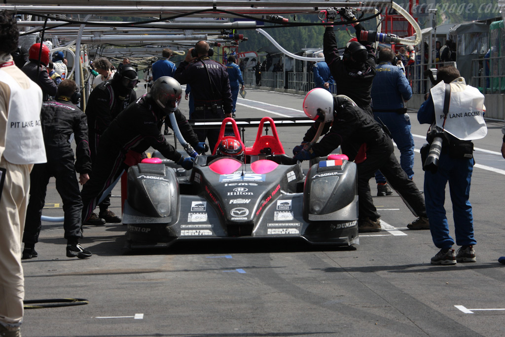 Fuel, no tires - Chassis: 01-06   - 2009 Le Mans Series Spa 1000 km