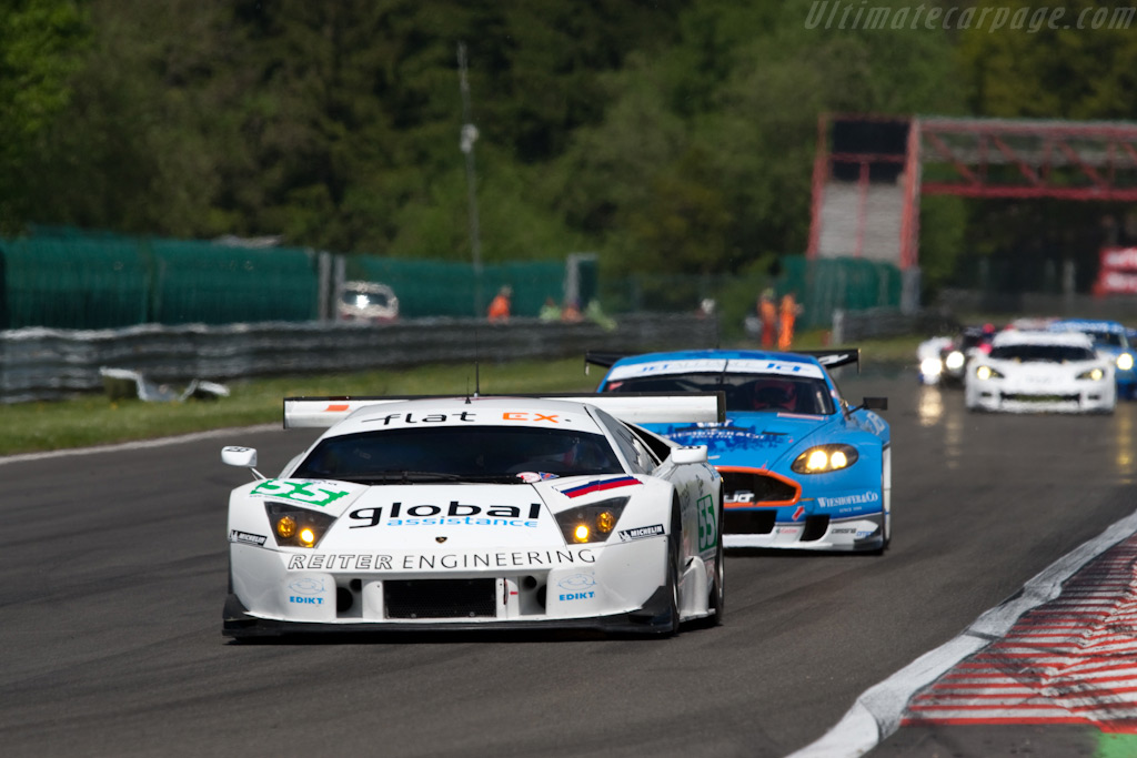 GT1 leaders - Chassis: LA01059   - 2009 Le Mans Series Spa 1000 km
