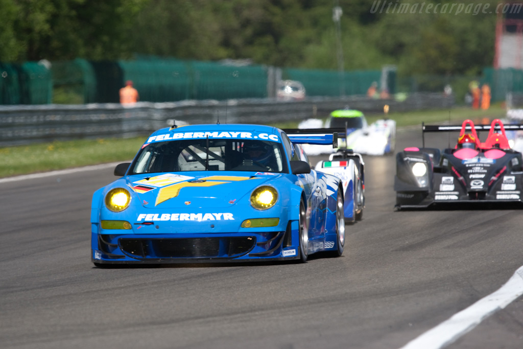 GT2 leader - Chassis: LA01059   - 2009 Le Mans Series Spa 1000 km