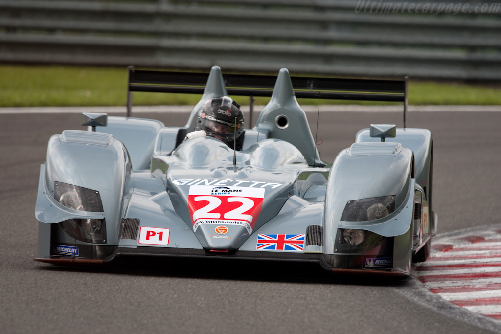 Ginetta-Zytek 09S - Chassis: 09S-06   - 2009 Le Mans Series Spa 1000 km