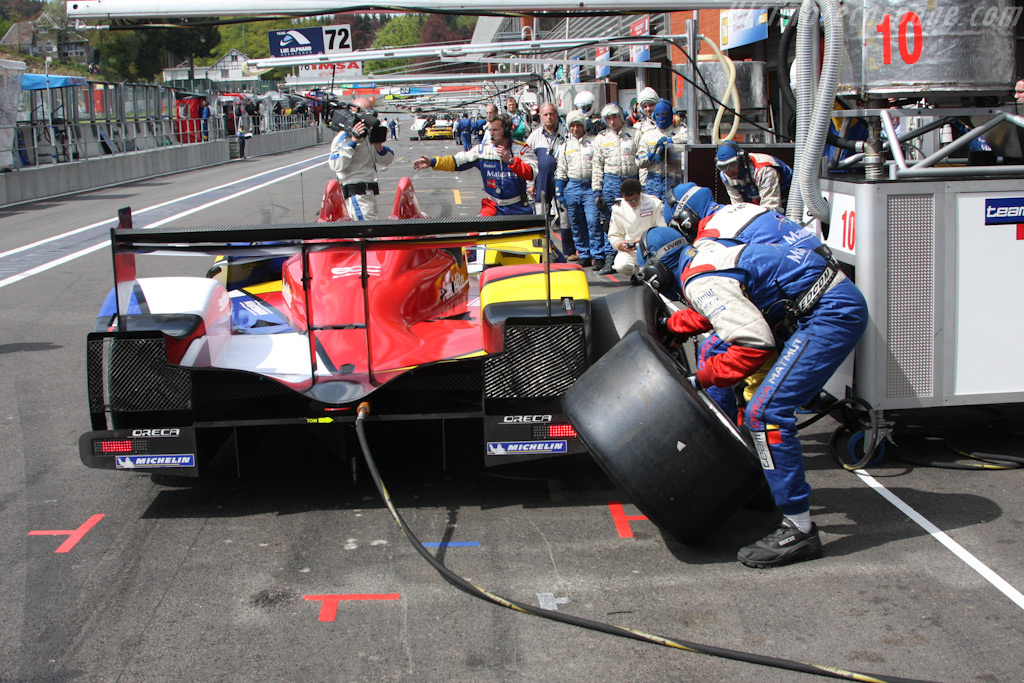 Just one wheelgun per stop - Chassis: 01   - 2009 Le Mans Series Spa 1000 km